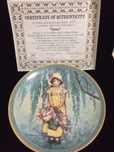 1986 JESSIE WILLCOX SMITH COLLECTOR PLATE, EASTER, EDWIN KNOWLES - $15.95