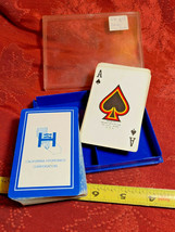 California Hydronics Corporation Playing Cards Brown & Bigelow St. Paul Minn.