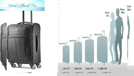 Samsonite Leverage LTE Expandable Softside Luggage with Spinner Charcoal - $117.02