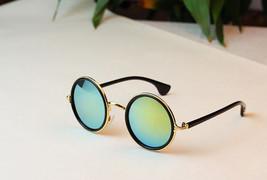 Classy Style Eye Glasses Women Men Fashion Retro Round Color Sunglasses ... - $9.98
