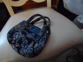 Vera Bradley small handbag in Windsor Navy pattern - £9.76 GBP