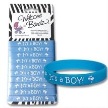 Its a Boy Birth Announcement Bracelets - 10 Pack - $19.79