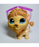 Littlest Pet Shop # 1112 LION with Sunglasses from Around the World Pack - $8.50