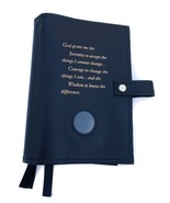 Triple 6th Edition NA Narcotics Anonymous Book Cover Serenity Prayer Black - $37.34
