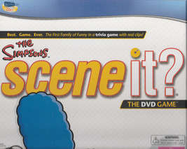 The Simpsons Scene It Game With DVD Trivia Questions (NIB) - $24.95