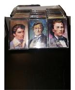 20 Music Cassettes Some New Mozart Brahms Gershwin Schubert Rachmaninoff... - $39.95