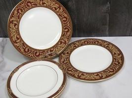 "5 Pieces Royal Doulton Tennyson  3 Bread Plates 6.5"" & 2 Salad Lunch 8"" - $47.52"