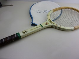 Vintage  Wood Spalding International Tennis Racket with Cover - $26.99
