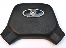 Jaguar XJ6 Sedan Black Steering Wheel Horn Cap Pad OEM PN: CBC2099 - $39.35