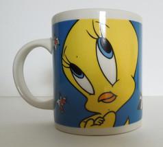 Tweety Bird Sylvester Coffee Mug Tea Cup Looney Tunes Gibson 1998  - $9.95