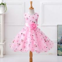 Flower Girl Dress Floral Princess Dresses Cute Design 3T 4T 5 6 7 8 Sizes - $21.99+