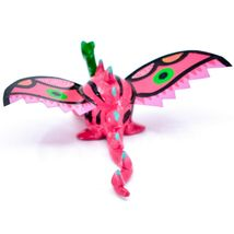 Handmade Alebrijes Oaxacan Wood Carved Folk Art Winged Dragon Bobble Head Figure image 3