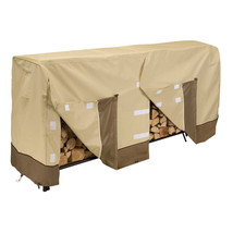 Classic Accessories Veranda Log Rack Cover 8 Ft Outdoor Dry Yard Firewoo... - $74.12