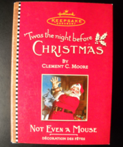 Hallmark Keepsake Christmas Ornament 2001 Not Even A Mouse Clement C Moo... - $7.99