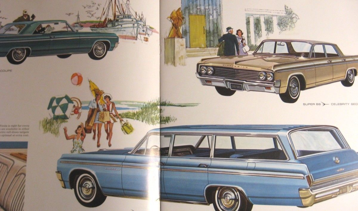 1963 Oldsmobile BIG Prestige Brochure, 98 88 and similar items
