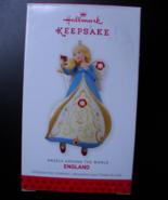 Hallmark Keepsake Christmas Ornament 2013 Angels Across The World Englan... - $9.99