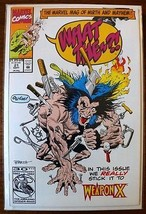 1992 WEAPON X What The--?! Marvel Comics #21 Wo... - $7.70