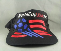1994 Wrold Cup of Soccer Hat - Large Oversized Graphic - By Adidas - Snapback - $59.00