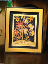 """""""Happiness Held is the Seed..."""" Summer Flowers Paper Cutting Scherenschnitte"""
