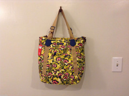 Oilily Shopper Hand Shoulder Bag Pineapple (yellow green dark blue pink) NEW