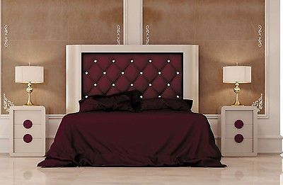 Krystal 06 Queen Size Bedroom Set Contemporary Modern Made in Spain