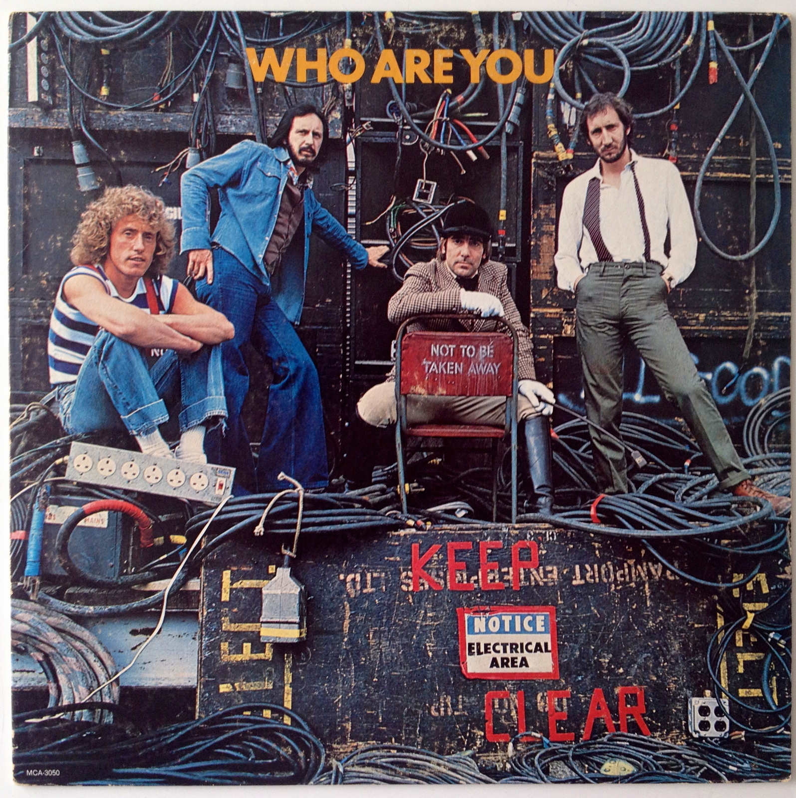 The Who - Who Are You LP Vinyl Record Album, 1978, Original Pressing