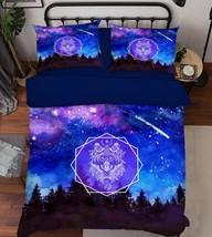 3D Bright Sky 38 Bed Pillowcases Quilt Duvet Cover Set Single Queen King... - $90.04+