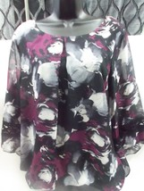 AGB Floral Print Large Blouse - $12.99