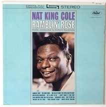 Nat King Cole - Ramblin' Rose LP Vinyl Record Album, Capitol Records - $16.95