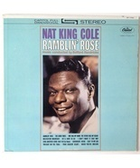 Nat King Cole - Ramblin' Rose LP Vinyl Record Album, Capitol Records - $319,86 MXN