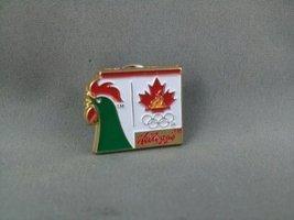 1998 Nagano Winter Olympic Games Pin - Team Canada - Kellog's Sponsor Sp... - £13.74 GBP