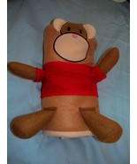 NEW Baby Blanket - MONKEY-  SHOWER GIFT  CHRISTENING Fleece Roll Up Easy... - $6.92