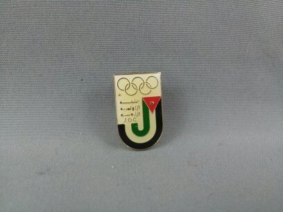 Primary image for Rare - Jordan International Olympic Committee Pin - 1988 Winter Olympic Games
