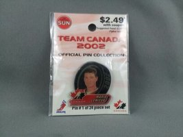 Limited Edition Team Canada Hockey Pin - Mario Lemieux - From 2002 Olympics - $25.00