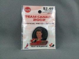 Limited Edition Team Canada Hockey Pin - Mario Lemieux - From 2002 Olympics - $25.00