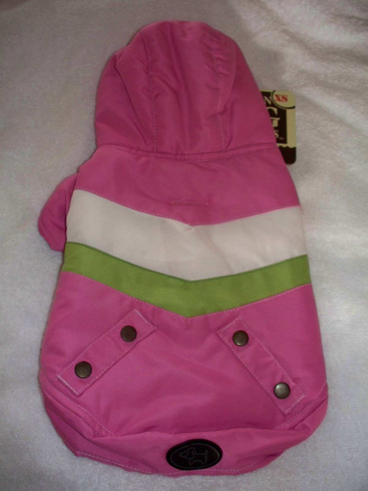 XSmall Pink Good Dog Reversible Toy Yorkie Chihuahua Poodle Clothes Jacket Coat