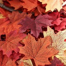 Leaves Maple Fall Autumn Wedding Silk Decoratio... - $14.69