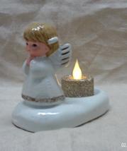 Vintage Angel Candle Holder // Votive Christmas Angel Candle Holder - $10.00