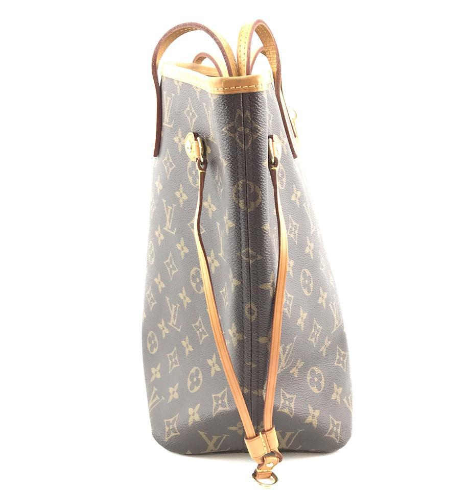 #33306 Louis Vuitton Neverfull Neo New Model Mm Tote Everyday Work Shoulder Bag image 8