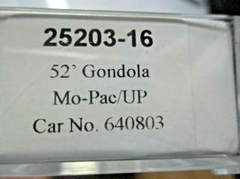 Trainworx Stock # 25203-13 to -18 Mo-Pac/UP Shield 52' Gondola N-Scale image 7