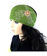 Knit Winter Headband Head Wrap w/ Western Pisto... - $17.32