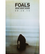 FOALS 'What Went down' 11 x 17 Soft Promo Poster, new - $12.95