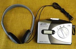 GPX Personal Cassette Player/Walkman + Digital Display AM/FM Radio - WDP... - $34.16