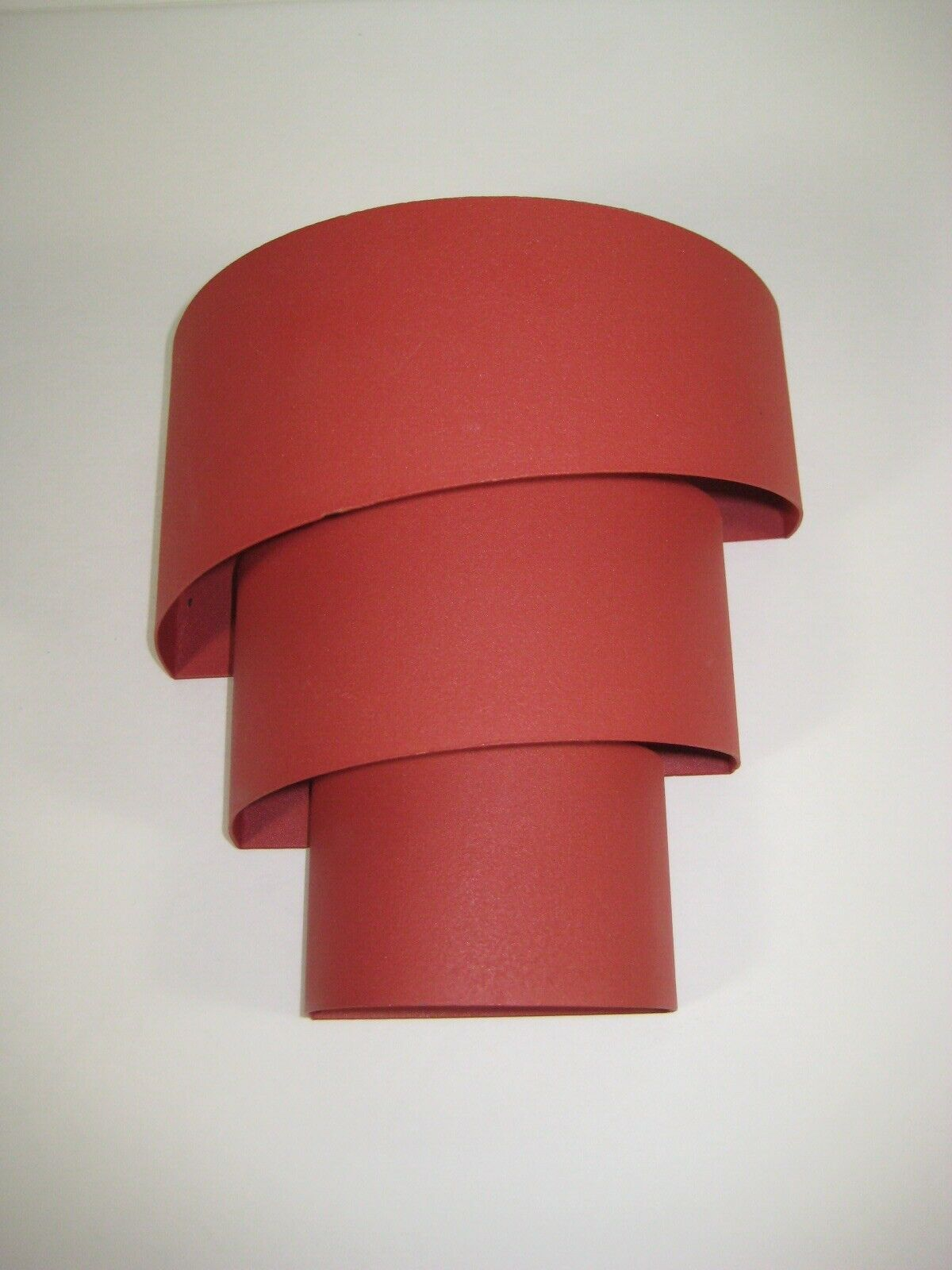 Primary image for RED Sconce Decorative Swirl Design - Excellent Condition --- photos