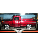 1969 Ford F-100 Pickup Truck Burgundy 1/24 by Motormax (Car) - $24.95
