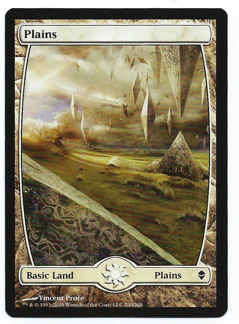 Mtg   plains zendikar 233