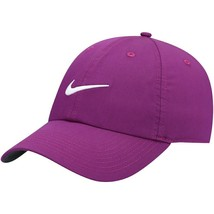 NEW! NIKE Adult Unisex Heritage86 Golf Cap/Hat-Bright Grape/White, BV607... - $51.72