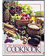 The AVON INTERNATIONAL Cookbook Hardcover 1983 - $4.00