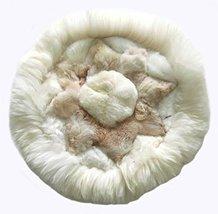 Alpakaandmore, Alpaca Fur Rug Round Different Sizes Star Designs (39.37/ 100 cm) - $146.52