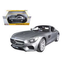 Mercedes AMG GT Silver 1/18 Diecast Model Car by Maisto 36204s - $49.10